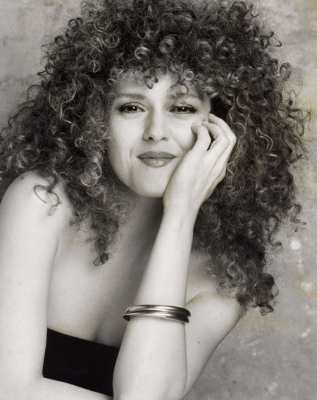 Bernadette Peters. I'm growing my hair out to look like this, and it will look like this! I've finally learned to love my hair :)