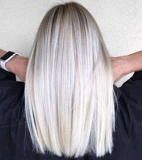 Balayage sur blond cendre