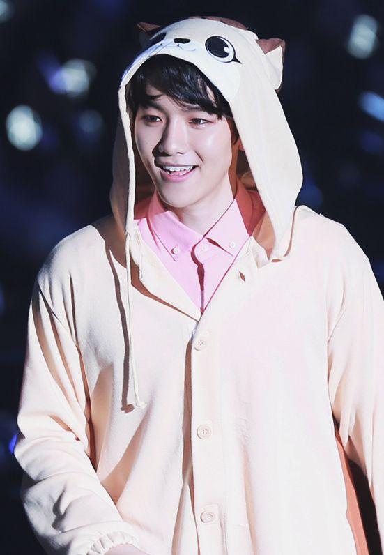 Byun beakhyun. . He's so cute ..
