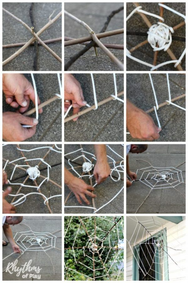 Giant Halloween Spider Web Decoration Spider Web Decoration