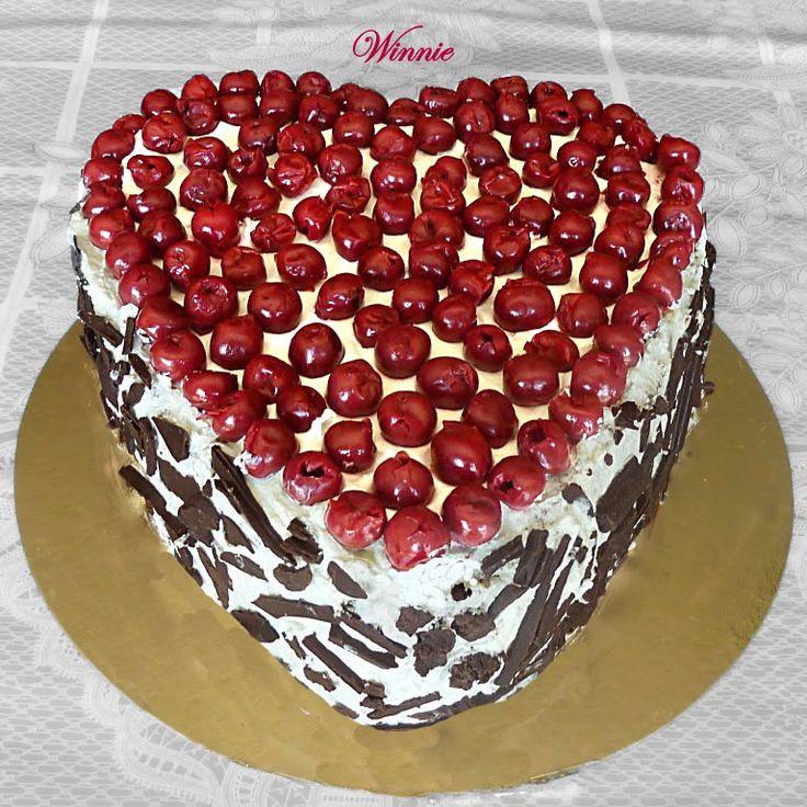 Cherry Cake And Chocolate