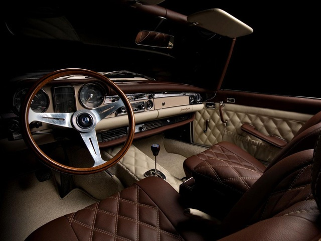 Mercedes Benz SL280 Awesome Refinished Interior