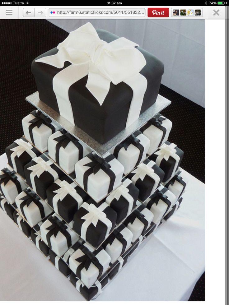 Cake tower.