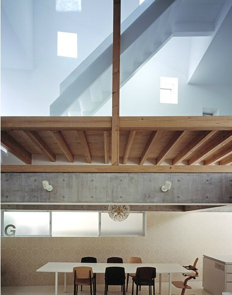 Jun Aoki - G house interior and details, Tokyo 2004.