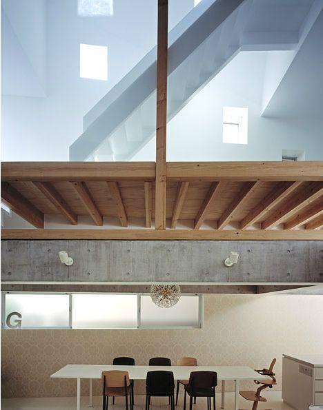 Jun Aoki - G house interior and details, Tokyo 2004.