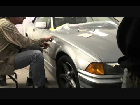 How To Repair Faded Peeling Paint On Your Car or Truck-Automotive Paint and Body Tech Tips-Part 3