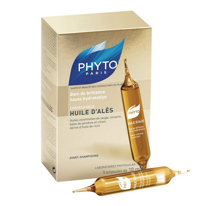 PHYTO Huile d'Ales Intense Hydrating Oil Treatment with essential oils, Dry Hair | Get your hair needs at Beauty.com.