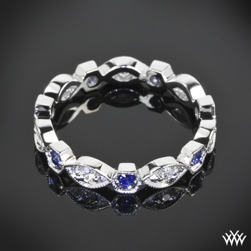 """Odyssey"" Diamond and Blue Sapphire: Fashion Details, Blue Sapphire, Fashion Femenina, Rights Hands Rings, Right Hand Rings, White Gold, Rings Size, Gold Odyssey, Engagement Rings"