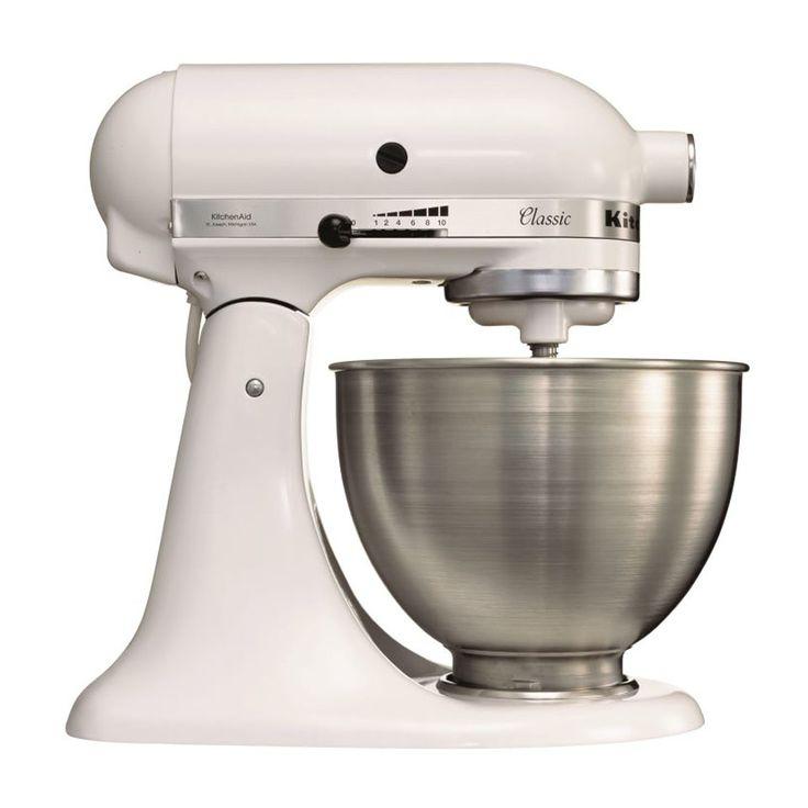 Kitchenaid Classic Mixer keukenrobot K45SS - wit