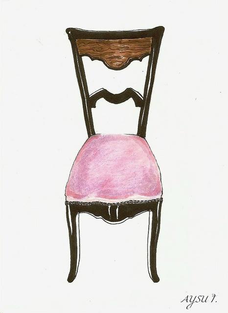 Flickr #chair #illustration
