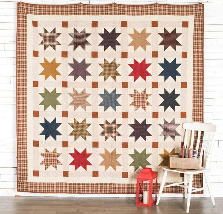 Primo Plaids Bedding Quilt Kit featuring Marcus Fabrics Primo Plaids Flannels Fabric   Craftsy