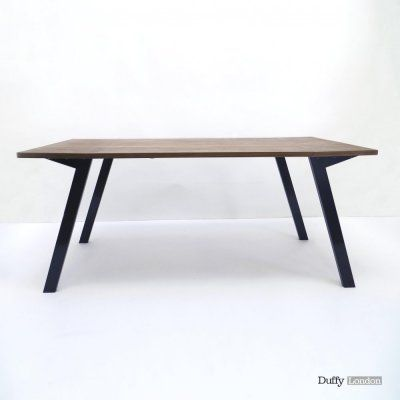 Duffy London - MK1 Transforming Coffee Table Wood | Large Converts from a coffee to a dining table and back.