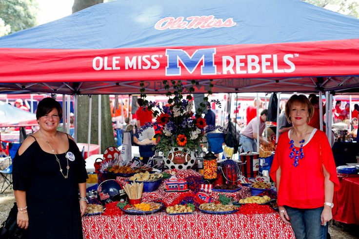Amazing pictures and descriptions of the tailgate scene at Ole Miss! some great ideas