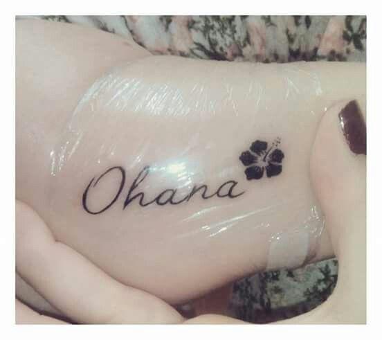 Tattoo Ohana