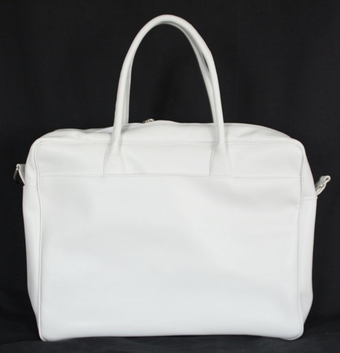 Customized lady business bag (pure white) - by BAG4U (outside)