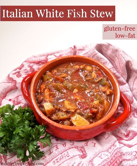 Italian white fish stew recipe stew vegetables and for Crockpot fish recipes