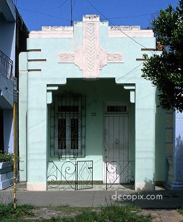 House, Havana, Cuba ..art deco house (20's?)