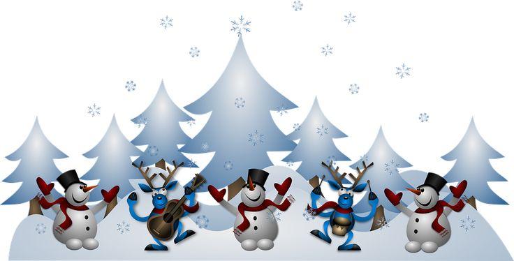 Snowmen, Renifer, Boże Narodzenie, Noel, X Mas, Karty