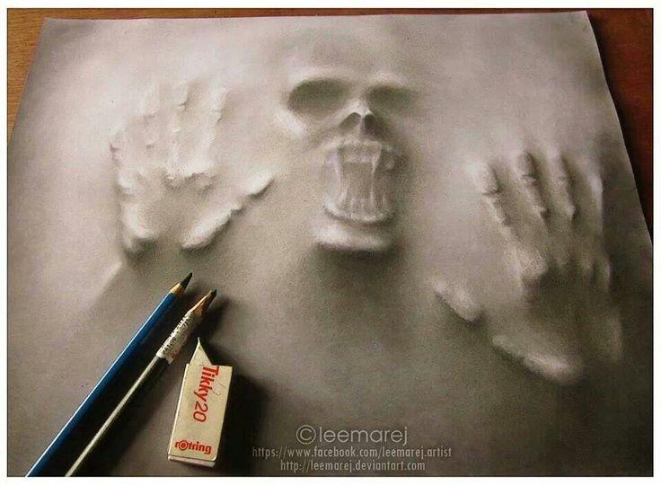 easy creepy pencil drawings - photo #31