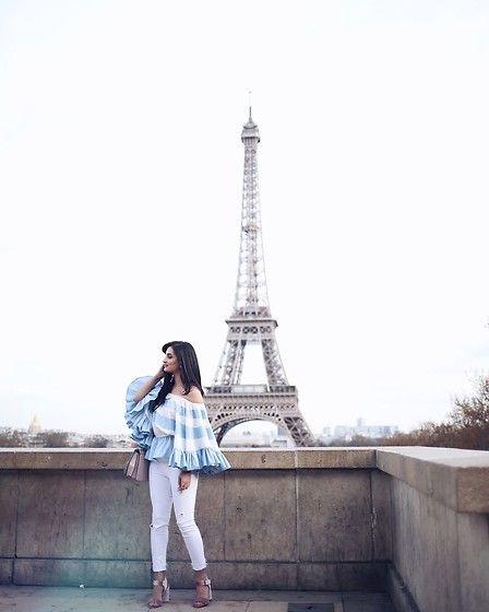 More looks by Merna Mariella: http://lb.nu/mernamariella  #chic #elegant #street #ootd #offshoulder #paris #streetstyle #fashionblogger #spring