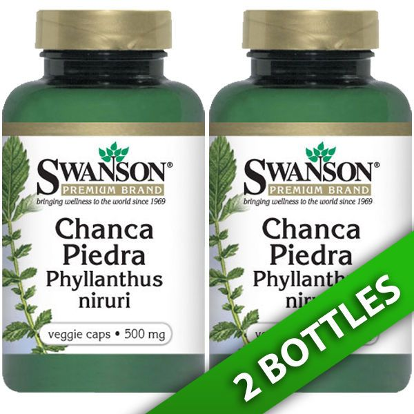 Chanca Piedra Phyllanthus niruri 500 mg 2X60 Caps Leaves and Stems by Swanson #ad