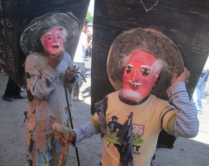 Carnaval de San Miguel Curahuango 2014