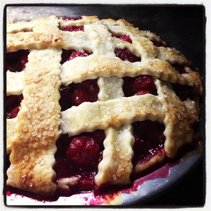 Yummy! Door County Cherry Pie!