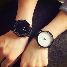 2017 harajuku estilo gran dial moda casual reloj hombres mujeres reloj de cuarzo orologio bgg marca lovers 'relojes de pulsera de cuero horas