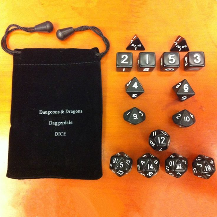 New 15pcs/1set Acrylic Transparent 4-20 sided Dice Thrown Multi-faceted Dice Portable Table Games Entertainment Tool