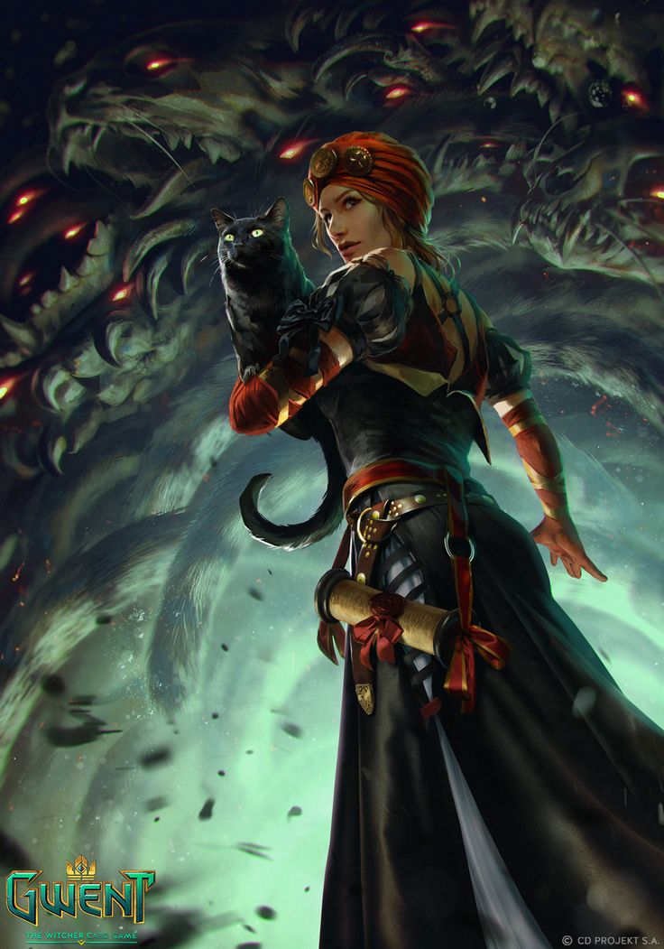 """Assire var Anahid - Gwent Card  """"Nilfgaardian mages do have a choice: servile submission, or the gallows."""""""