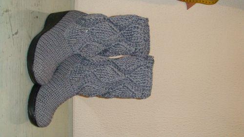 botas tejidas a #crochet | Tejidos <3 | Pinterest | Crochet