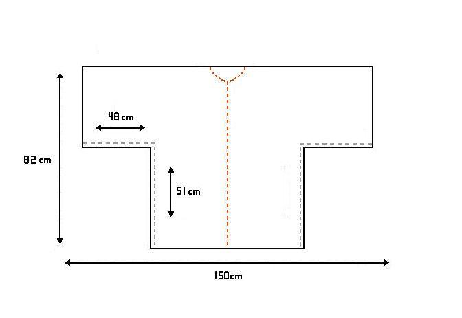 measurements pattern kimono winter jacket