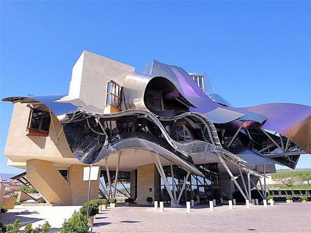 Hotel Marques de Riscal, Elciego, Spain    Frank Gehry
