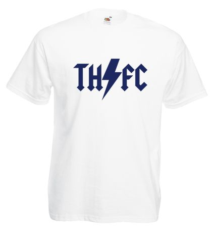 £9.99 #Tottenham #Hotspur AC/DC Style Tshirt - Worldwide Delivery #Football #Soccer