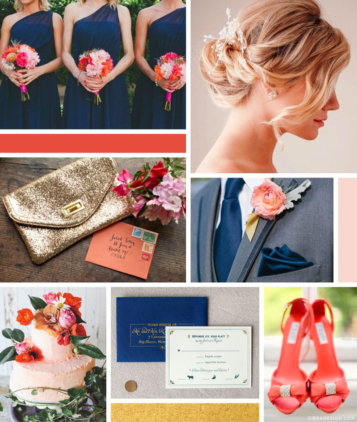 Coral And Gold Wedding Colours: Best 25+ Coral Navy Weddings Ideas On Pinterest