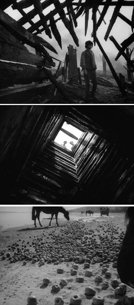 Ivanovo detstvo (Ivan's Childhood) (1962). Director: Andrei Tarkovsky