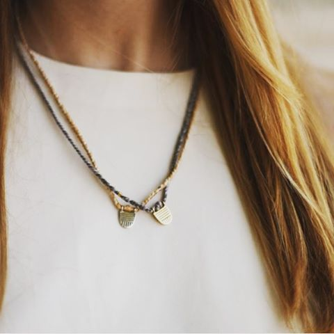 Sand and Pepper Limitless Necklaces at @enrou_  #CourageIsContagious ✨