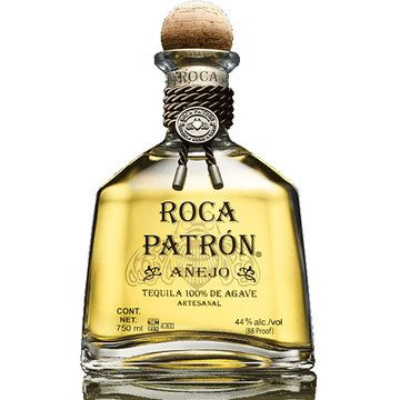 Roca Patron Anejo is an artisanal, handcrafted ultra-premium tequila, produced in small batches entirely from the age-old tahona process.