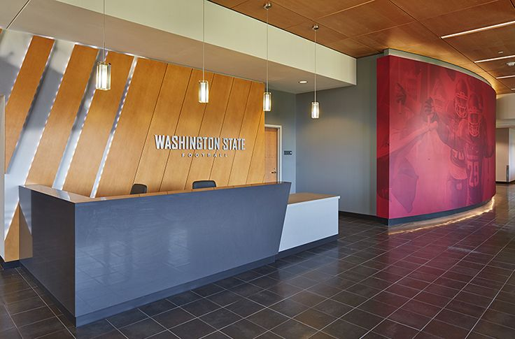 ALSC Architects |  WSU Cougar Football Complex Reception
