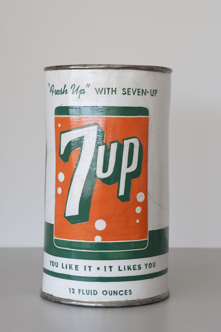 The Raku clay 7-Up Can sculpture is made by CA artist, Karen Shapiro. Come see her piece in the permanent collection at @Crocker Art Museum.: Art Museum
