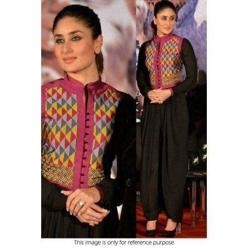 Online Shopping for Kareena kapoor black sut   Salwar Suit   Unique Indian Products by SAREEZ HOUSE - MSARE95012722780