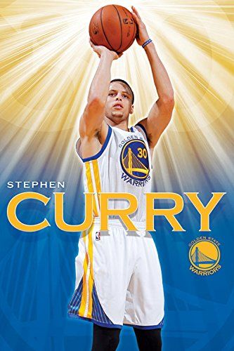Stephen Curry - Golden State Warriors Basketball Poster - http://gswteamstore.com/2015/11/28/stephen-curry-golden-state-warriors-basketball-poster/
