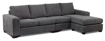 Living Room Furniture-Danielle 2 Pc. Sectional