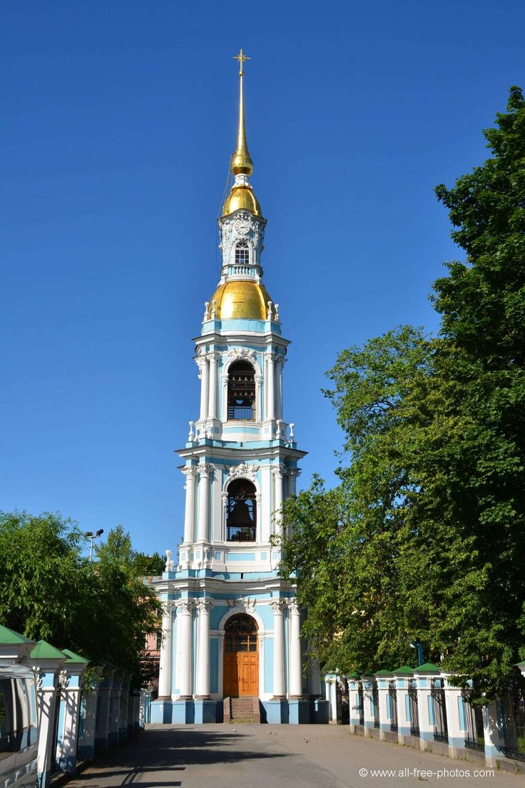 Cathedral of St Nicholas, Bell tower, Petersburg