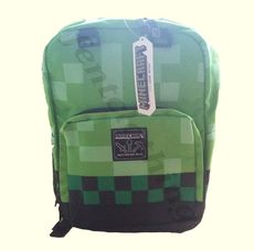 Minecraft Backpack Green 44cm Height
