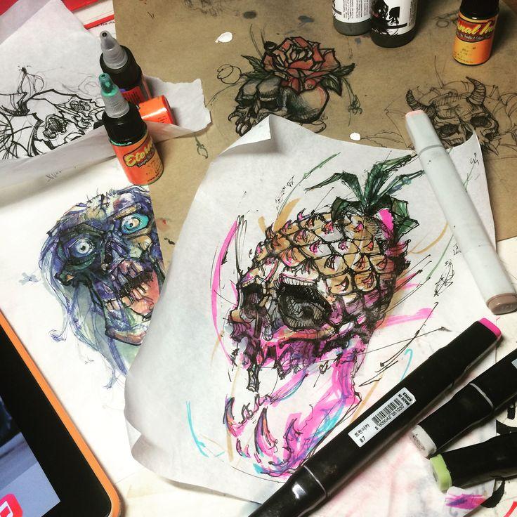 #ночьэскизов#эскизытату#черепа#эскизчереп#комсомольскнаамуре#sketch#tattoosketch#tattooink#tattoskillz#bounce#markers#free#art#sketchart#zombies#zombieface#gorodkomsomolsk#khv#dv#komsomolskonamur#зомби эскиз, эскиз маркёром, графика, зомби