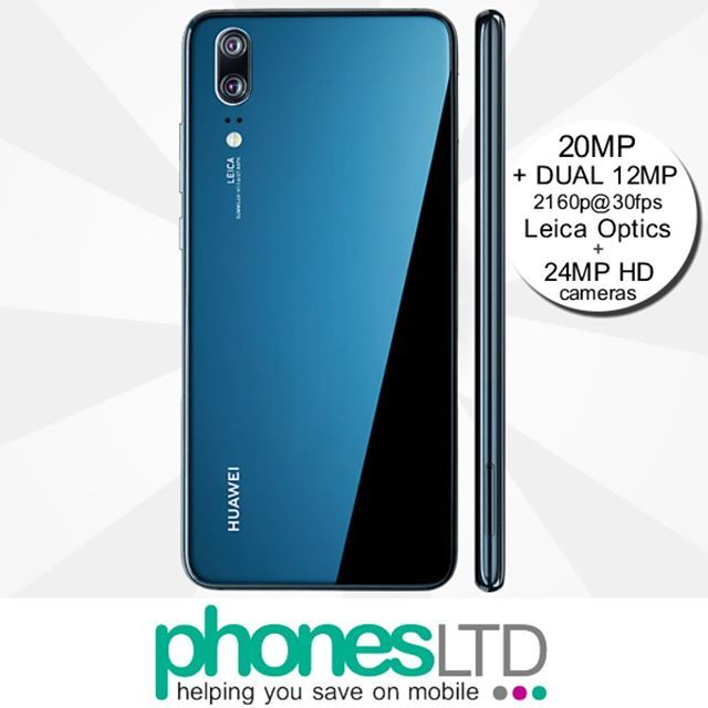 The Stunning Midnight Blue Edition Huawei P20 Pro 6 1 Inch Oled Fullview Hd Display 40mp 20mp 8mp Triple Lens Camera 128gb I Huawei Camera Lens Camera Phone