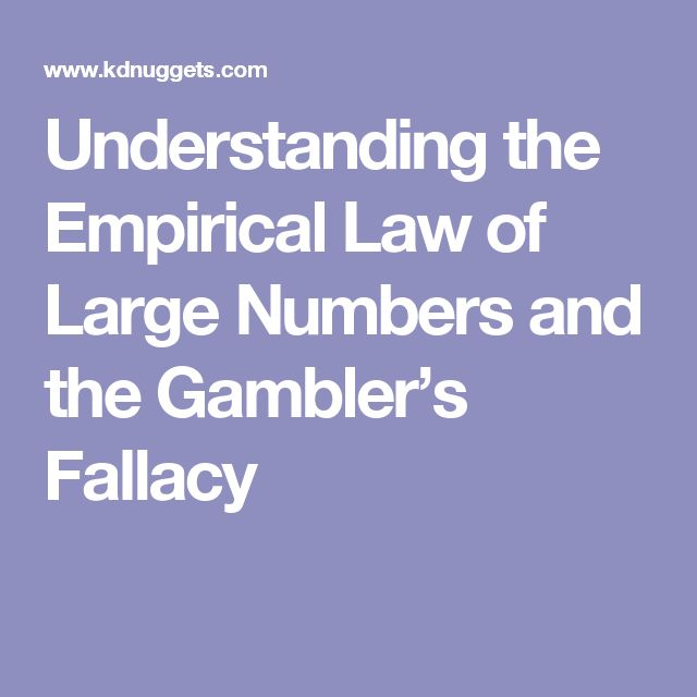 Understanding the Empirical Law of Large Numbers and the Gambler's Fallacy