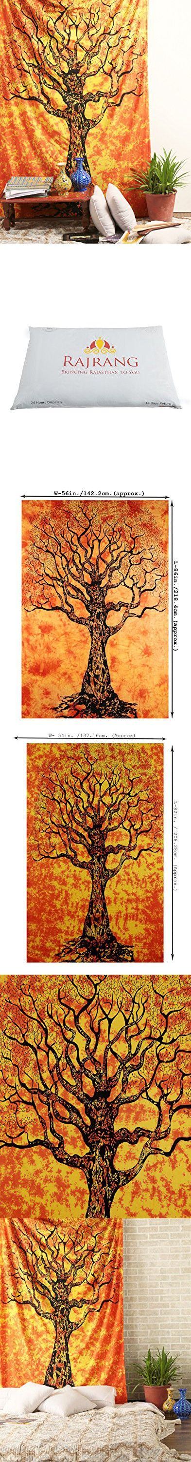 Tree of Life Tapestry , Hippie Tapestries , Bohemian Boho Coverlet , Dorm Tapestry Sheet ,Wall Tapestries, Tapestry Wall Hanging, By Rajrang