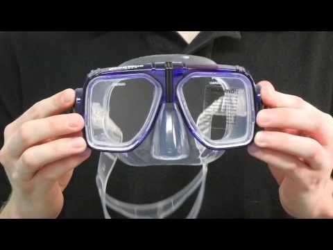 ▶ Prescription Snorkeling Mask - Spirit 2 Classic - YouTube from Snorkel-Mart.com - http://www.snorkel-mart.com/detail.cfm?ProductID=121&AllocatedProductID=120
